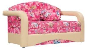 Детский диван Эдем пони розовый фото | интернет-магазин Складно