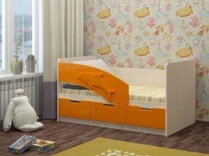 Детская кровать Дельфин-6 мдф 180см 6790 рублей, фото 5 | интернет-магазин Складно