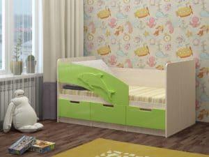 Детская кровать Дельфин-6 мдф 180см 6790 рублей, фото 6 | интернет-магазин Складно