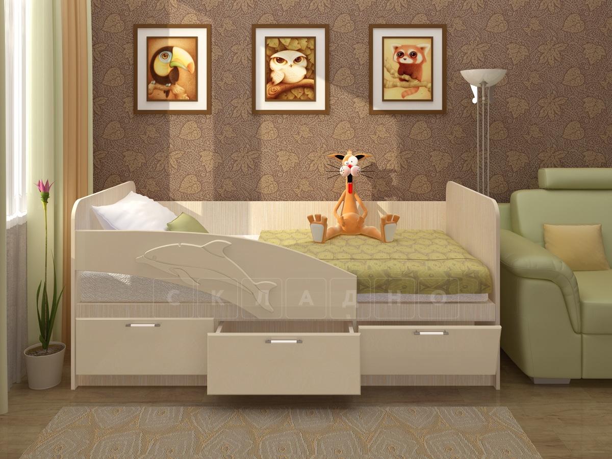 Детская кровать Дельфин 160см фото 4 | интернет-магазин Складно