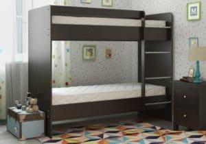 Двухъярусная кровать ЛДСП без ящиков 9950 рублей, фото 4 | интернет-магазин Складно