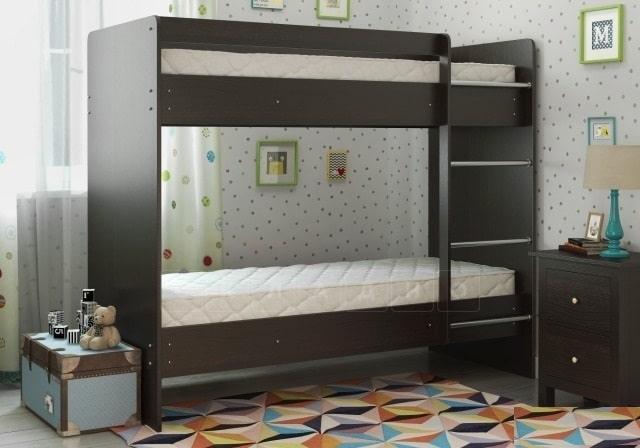 Двухъярусная кровать ЛДСП без ящиков фото 4 | интернет-магазин Складно