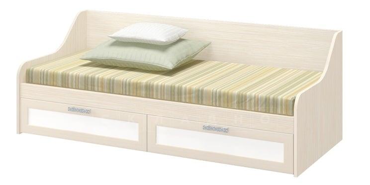 Детская кровать ДЮ-01 с ящиками, рамочный фасад фото 1 | интернет-магазин Складно