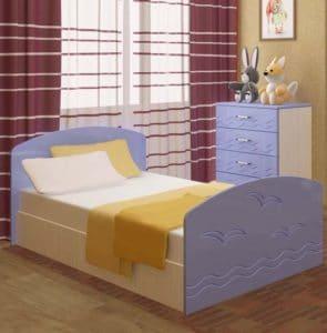 Детская кровать Юниор-2 7080 рублей, фото 3 | интернет-магазин Складно