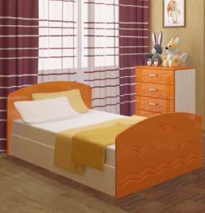 Детская кровать Юниор-2 7080 рублей, фото 4 | интернет-магазин Складно