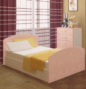 Детская кровать Юниор-2 7080 рублей, фото 5 | интернет-магазин Складно