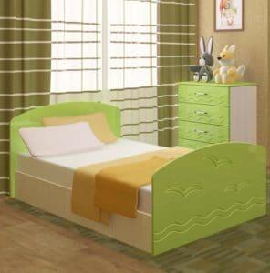 Детская кровать Юниор-2 7080 рублей, фото 2 | интернет-магазин Складно