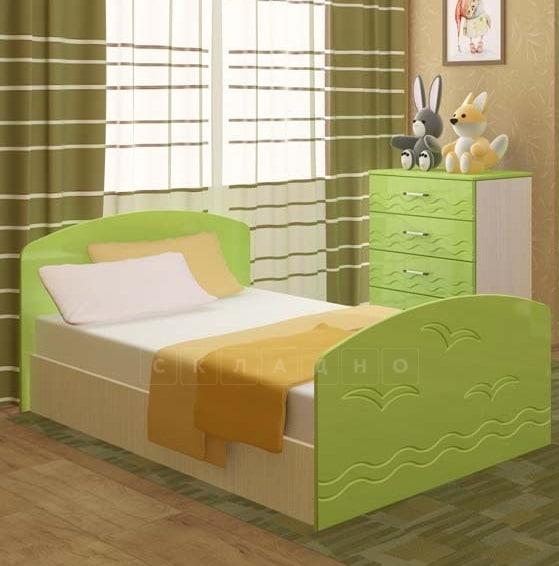 Детская кровать Юниор-2 фото 2 | интернет-магазин Складно