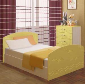 Детская кровать Юниор-2 7080 рублей, фото 6 | интернет-магазин Складно