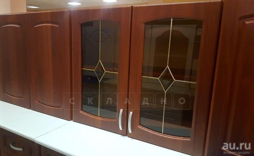 Кухонный гарнитур Кариба 1,6м итальянский орех фото 2 | интернет-магазин Складно