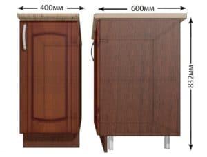 Кухонный шкаф напольный Кариба ШН40 фото | интернет-магазин Складно