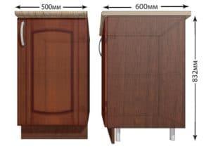Кухонный шкаф напольный Кариба ШН50 фото | интернет-магазин Складно