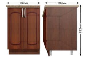 Кухонный шкаф напольный Кариба ШН60 фото   интернет-магазин Складно