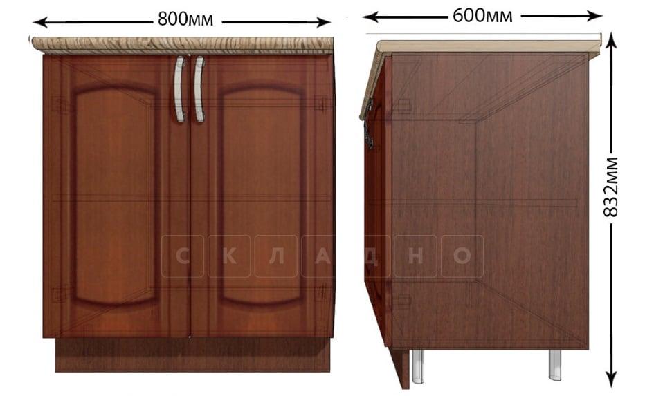 Кухонный шкаф напольный Кариба ШН80 фото 1 | интернет-магазин Складно