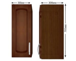 Кухонный навесной шкаф Кариба ШВ30 фото | интернет-магазин Складно