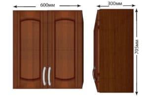 Кухонный навесной шкаф Кариба ШВ60 фото | интернет-магазин Складно