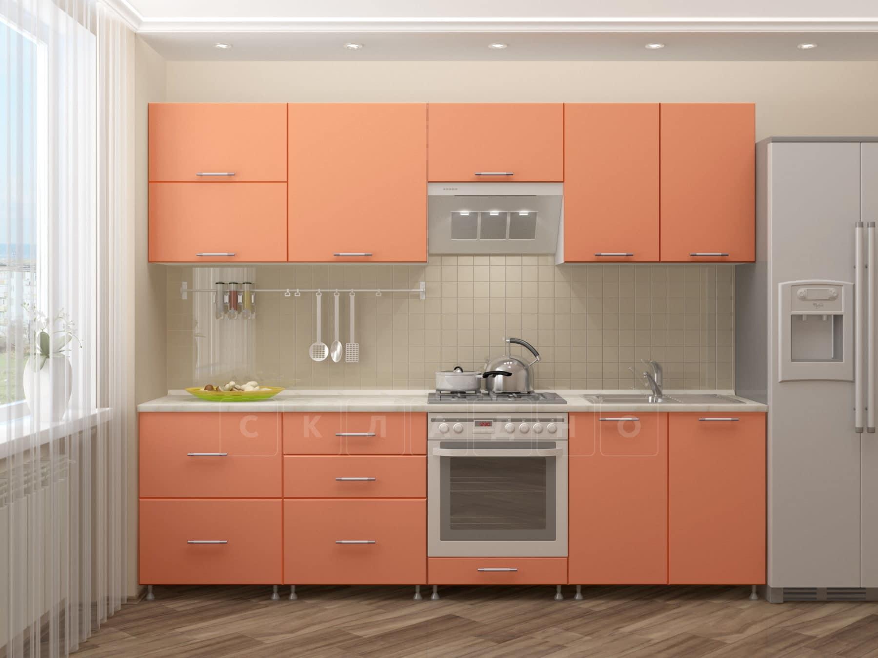 Кухонный гарнитур Шарлотта 2,6 м белый фото 2 | интернет-магазин Складно