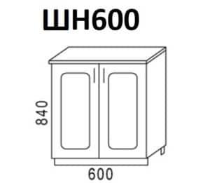Кухонный шкаф напольный Венеция ШН60  3170  рублей, фото 1 | интернет-магазин Складно