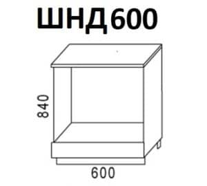 Кухонный шкаф под встраиваемую духовку Венеция ШНД60 фото | интернет-магазин Складно