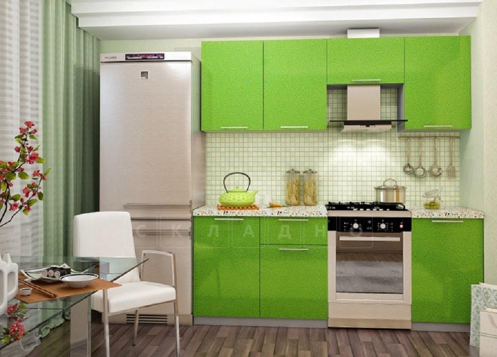 Кухонный гарнитур Шарлотта эвкалипт 2,1 м фото 1 | интернет-магазин Складно