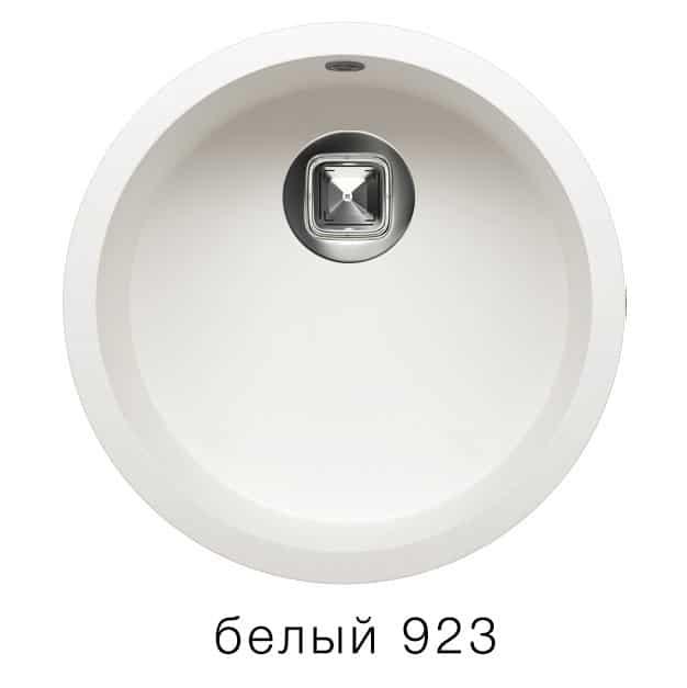 Кухонная мойка TOLERO R-104 кварцевая круглая фото 8 | интернет-магазин Складно