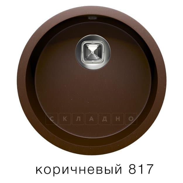 Кухонная мойка TOLERO R-104 кварцевая круглая фото 5 | интернет-магазин Складно