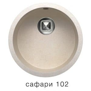 Кухонная мойка TOLERO R-104 кварцевая круглая 4900 рублей, фото 3 | интернет-магазин Складно
