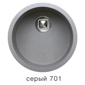 Кухонная мойка TOLERO R-104 кварцевая круглая 4900 рублей, фото 4 | интернет-магазин Складно