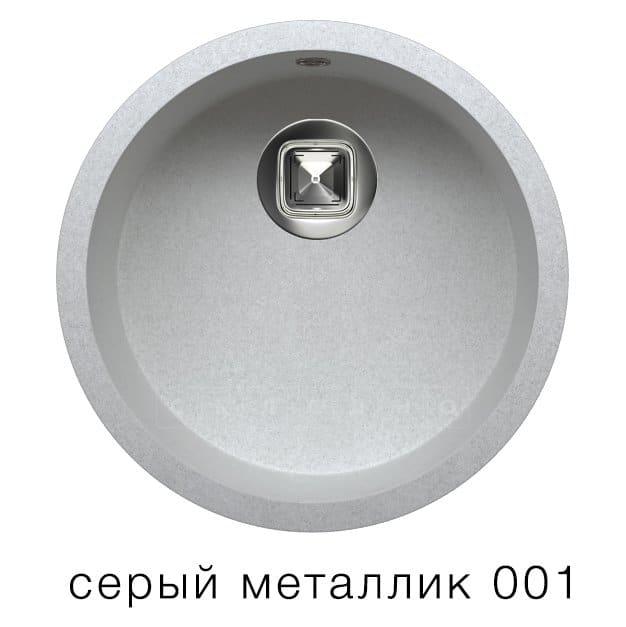 Кухонная мойка TOLERO R-104 кварцевая круглая фото 2 | интернет-магазин Складно