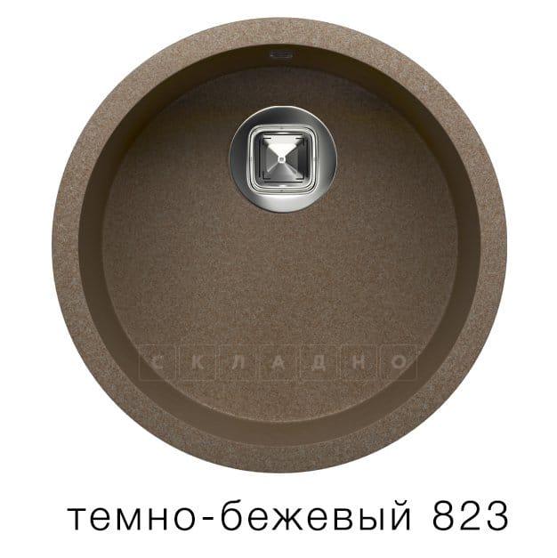 Кухонная мойка TOLERO R-104 кварцевая круглая фото 6 | интернет-магазин Складно