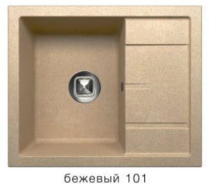 Кухонная мойка TOLERO R-107 кварцевая  7900  рублей, фото 1   интернет-магазин Складно