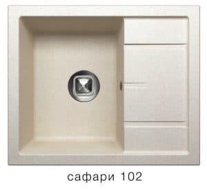 Кухонная мойка TOLERO R-107 кварцевая 7900 рублей, фото 3   интернет-магазин Складно