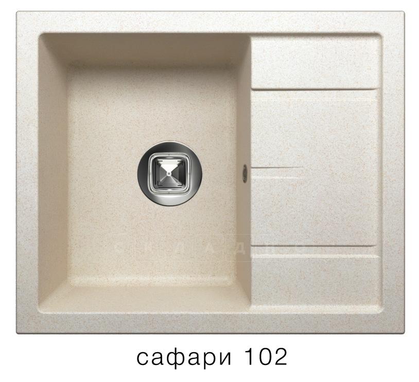 Кухонная мойка TOLERO R-107 кварцевая фото 3   интернет-магазин Складно