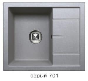 Кухонная мойка TOLERO R-107 кварцевая 7900 рублей, фото 4   интернет-магазин Складно
