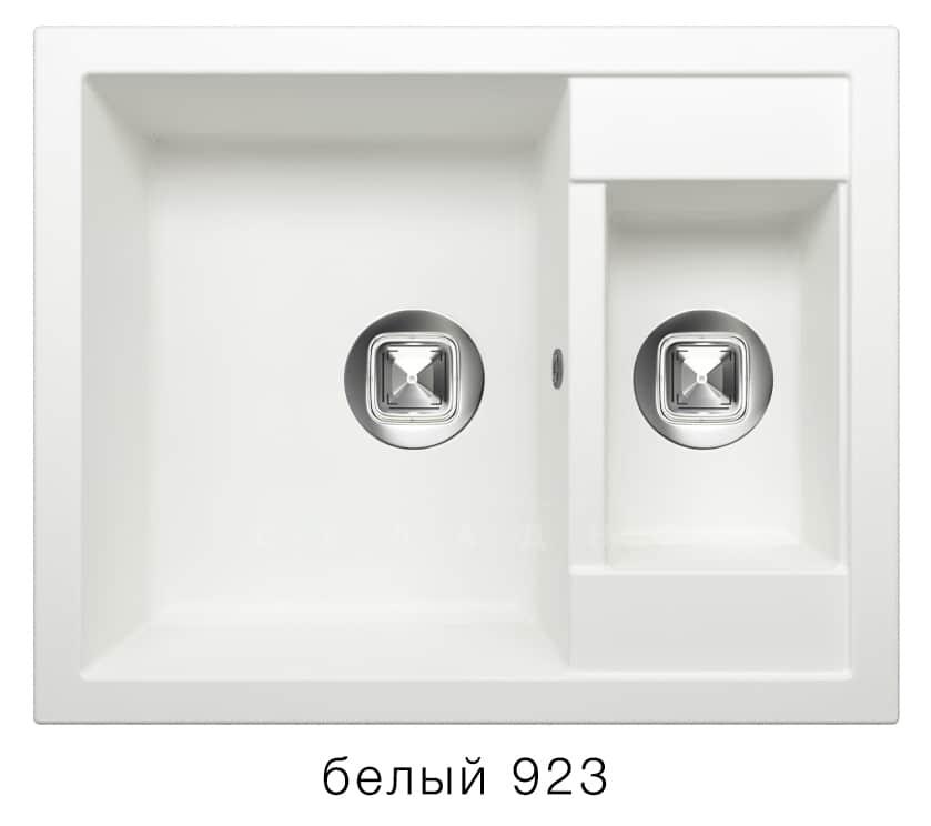 Кухонная мойка TOLERO R-109 кварцевая 62х50 см две чаши фото 8   интернет-магазин Складно