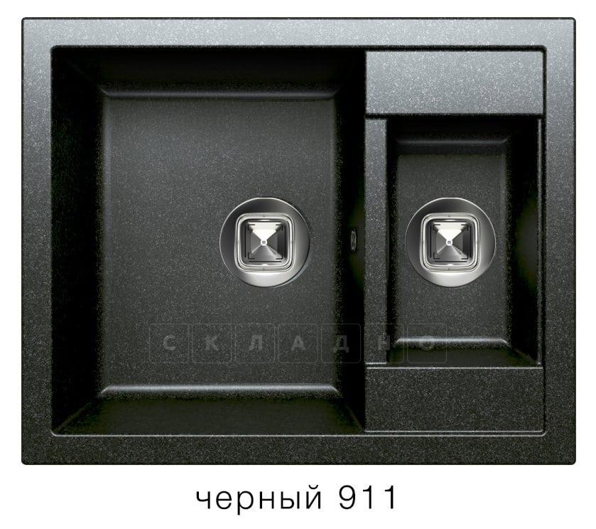 Кухонная мойка TOLERO R-109 кварцевая 62х50 см две чаши фото 7   интернет-магазин Складно