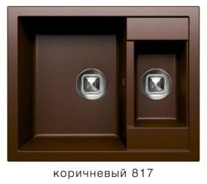 Кухонная мойка TOLERO R-109 кварцевая 62х50 см две чаши 8900 рублей, фото 5   интернет-магазин Складно