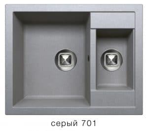 Кухонная мойка TOLERO R-109 кварцевая 62х50 см две чаши 8900 рублей, фото 4   интернет-магазин Складно
