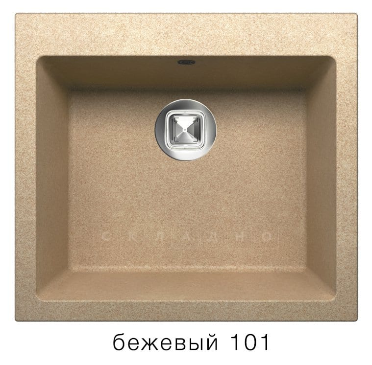 Кухонная мойка TOLERO R-111 кварцевая фото 1 | интернет-магазин Складно