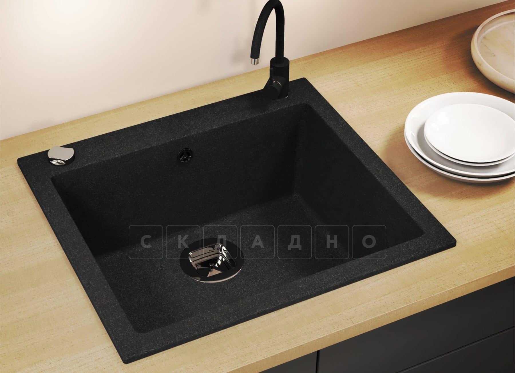 Кухонная мойка TOLERO R-111 кварцевая фото 10 | интернет-магазин Складно