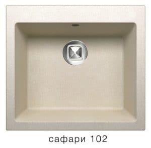 Кухонная мойка TOLERO R-111 кварцевая 8400 рублей, фото 3 | интернет-магазин Складно