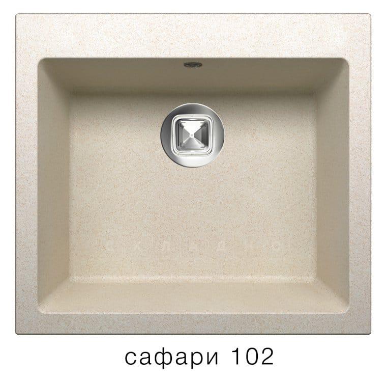 Кухонная мойка TOLERO R-111 кварцевая фото 3 | интернет-магазин Складно