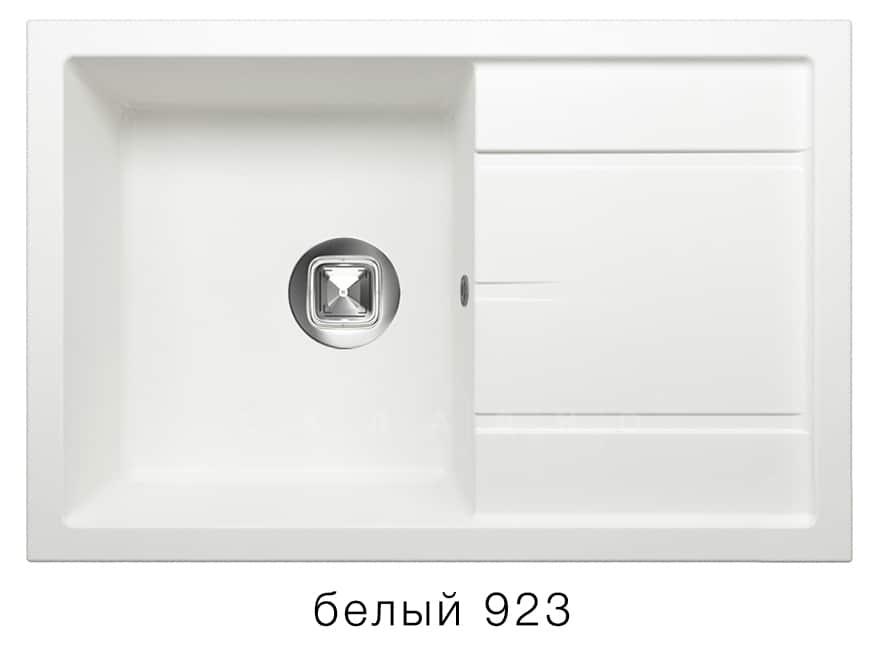 Кухонная мойка TOLERO R-112 кварцевая 76х51 см фото 8 | интернет-магазин Складно