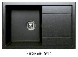 Кухонная мойка TOLERO R-112 кварцевая 76х51 см 9100 рублей, фото 7 | интернет-магазин Складно