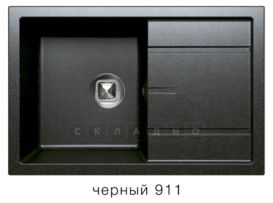 Кухонная мойка TOLERO R-112 кварцевая 76х51 см фото 7 | интернет-магазин Складно