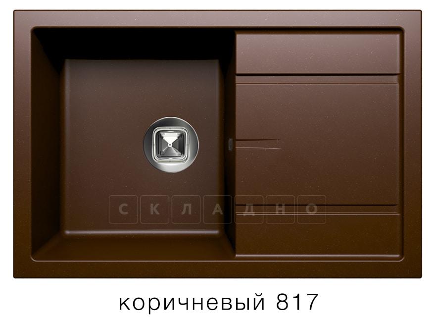 Кухонная мойка TOLERO R-112 кварцевая 76х51 см фото 5 | интернет-магазин Складно