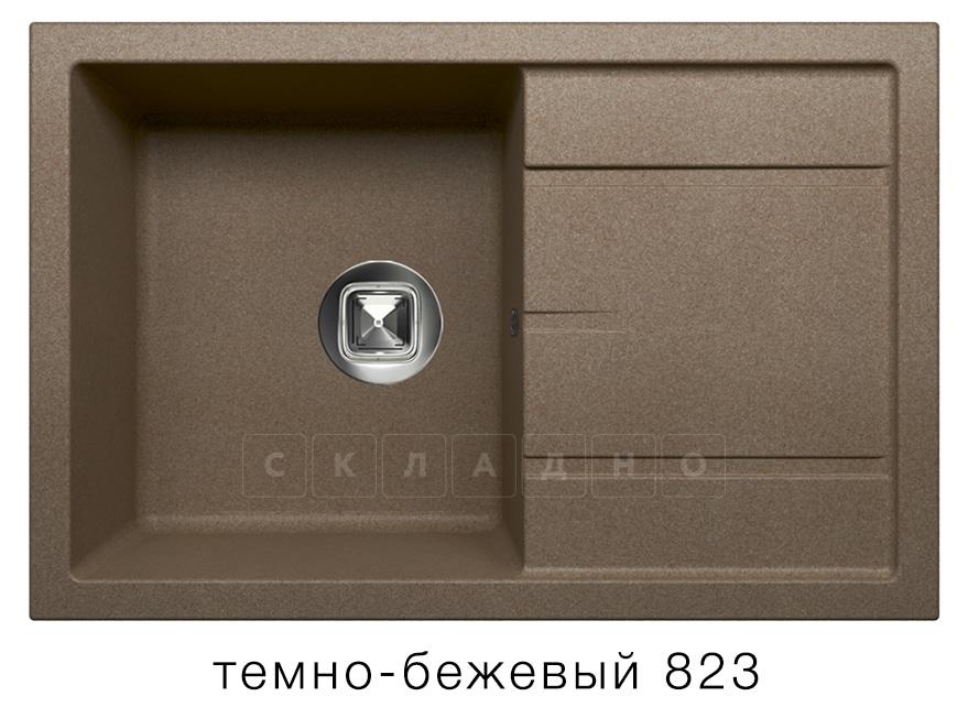Кухонная мойка TOLERO R-112 кварцевая 76х51 см фото 6 | интернет-магазин Складно