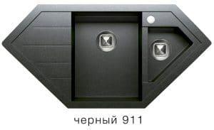 Кухонная мойка TOLERO R-114 кварцевая 100х50 см угловая 10400 рублей, фото 7   интернет-магазин Складно