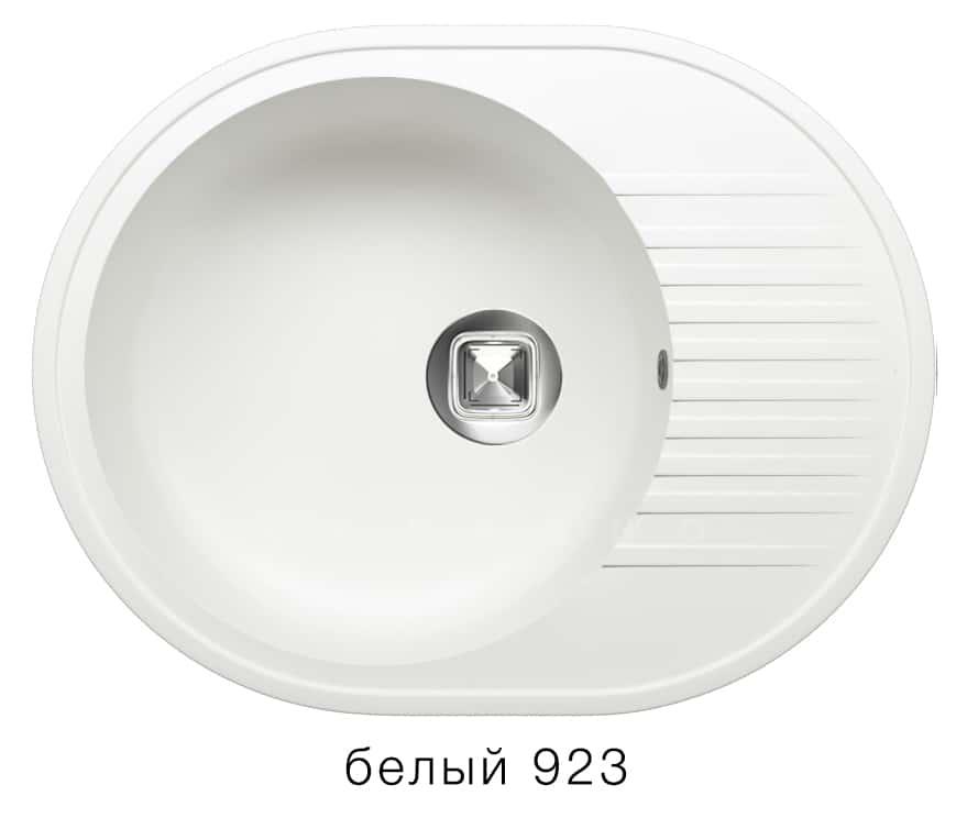 Кухонная мойка TOLERO R-122 кварцевая овальная фото 8   интернет-магазин Складно