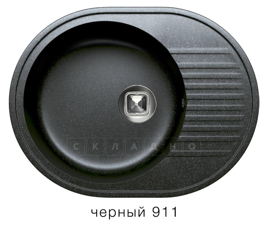 Кухонная мойка TOLERO R-122 кварцевая овальная фото 7   интернет-магазин Складно